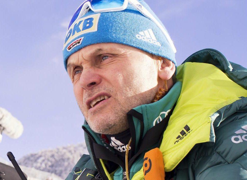 Bundestrainer Gerald Hönig