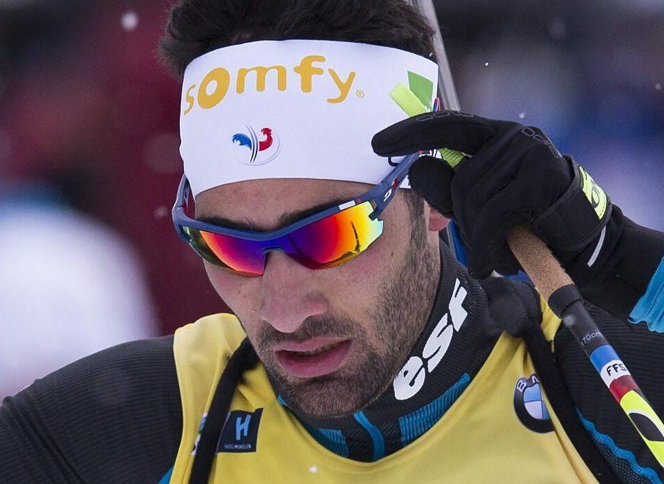 Martin Fourcade Verfolgung Oslo 2018