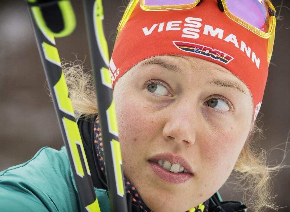 Laura Dahlmeier Comeback