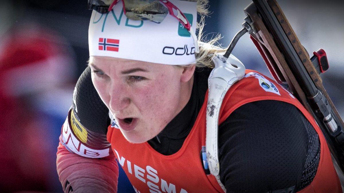 Marte Olsbu Roeiseland Norwegen
