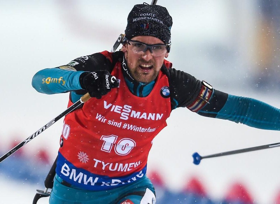 Simon Desthieux Mixed Staffel Pokljuka 2018