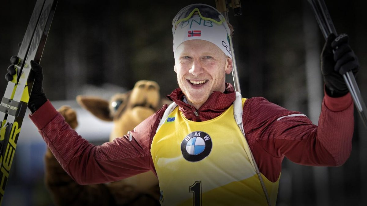 Johannes Thingnes Boe Sieger in Antholz, Sprint 2019