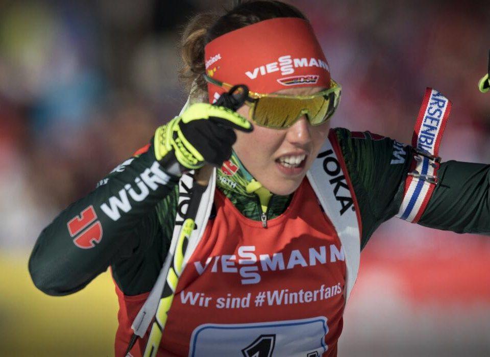 Laura Dahlmeier Nove Mesto 2018