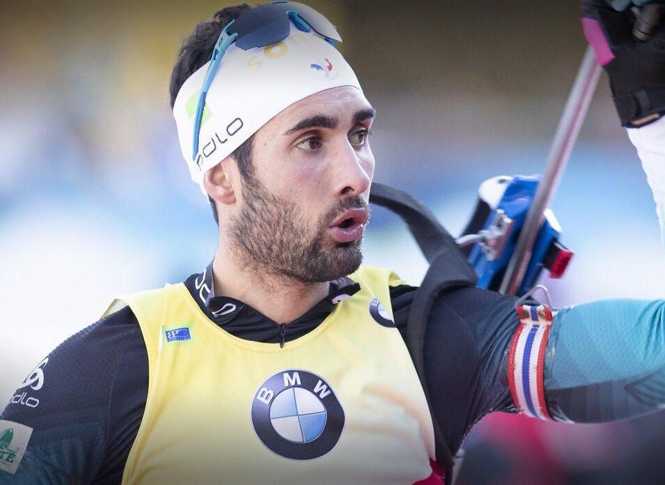 Martin Fourcade Sieg im Verfolgungsrennen in Hochfilzen 2018