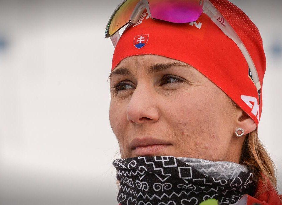 Kuzmina Siegerin Sprint Ruhpolding 2019