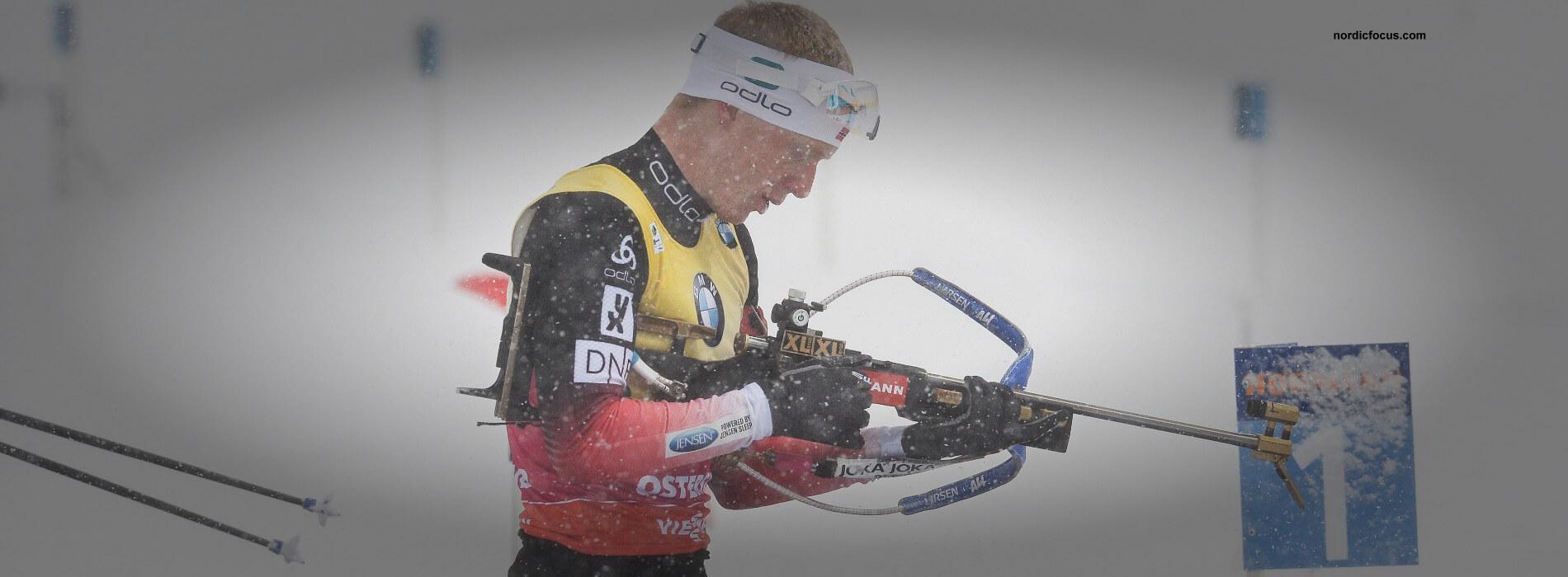 Johannes Boe gewinnt  Arnd Peiffer auf 7