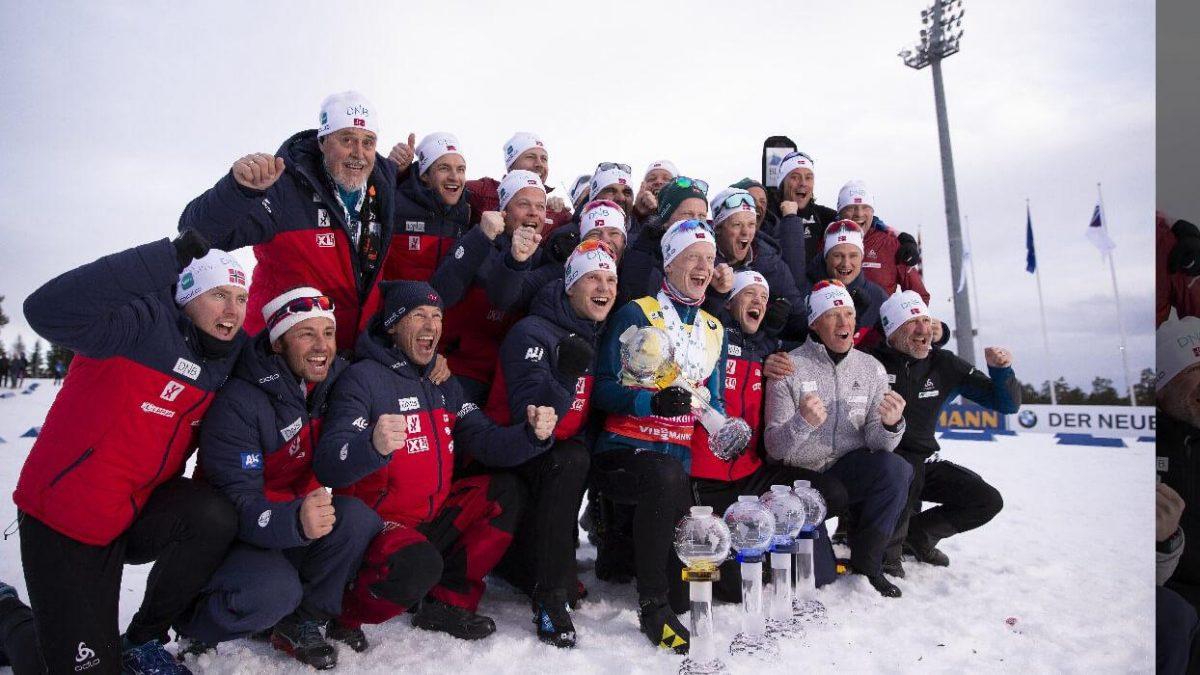 Johannes Thingnes Boe Gesamtweltcupsieger 2018/19