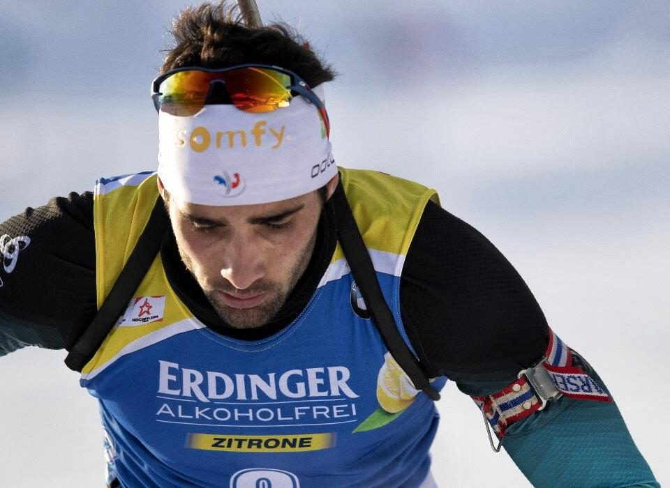 Martin Fourcade in Aktion