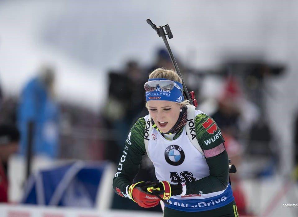 Anna Weidel im Weltcupteam 2019-20