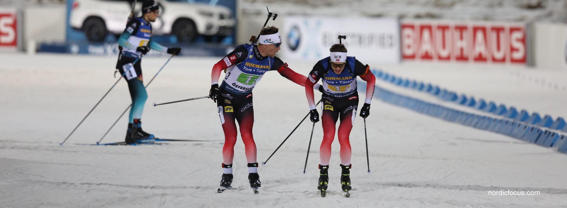 Sieger Norwegen mit Boe in Östersund