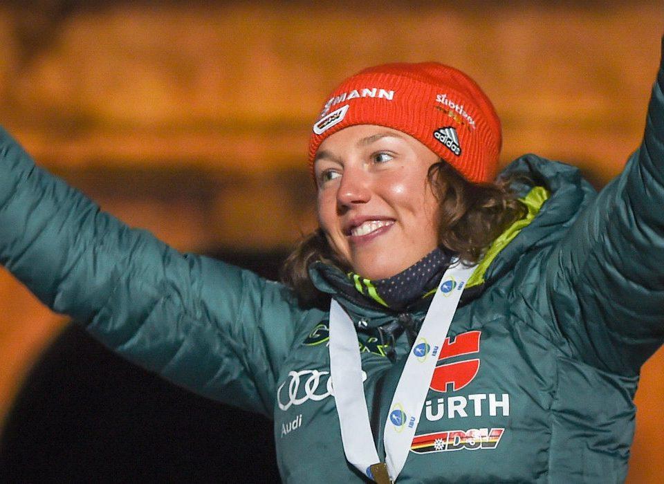 Laura Dahlmeier Biathlon auf Schalke 2019