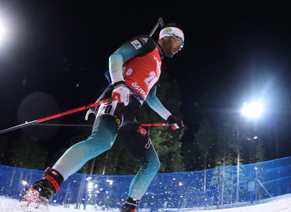 Martin Fourcade Sieger im Einzel Östersund 2019