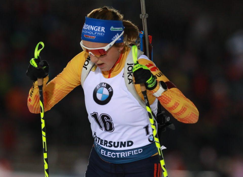 Franziska Preuß Sprint Östersund