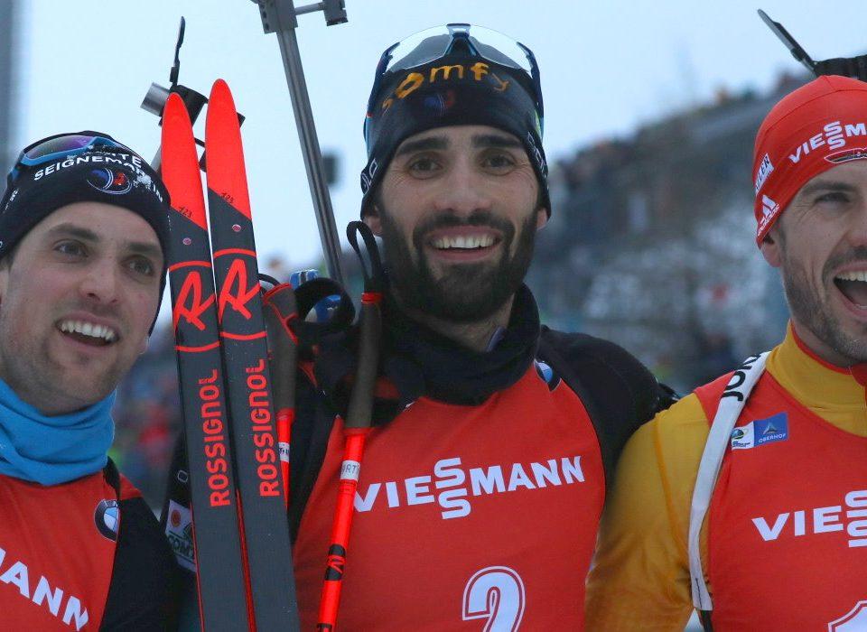 Arnd Peiffer, Martin Fourcade Oberhof Massenstart 2020