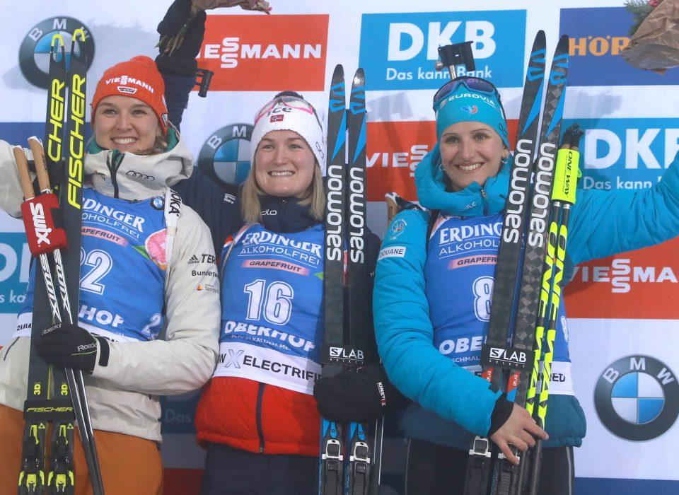Denise Herrmann Platz 2 Oberhof 2020 Sprint