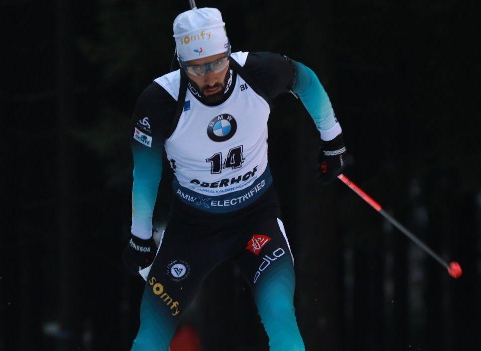 Martin Fourcade Sieger Sprint Oberhof 2020
