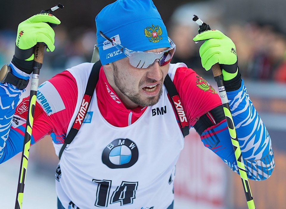 Alexander Loginov, Weltmeister in Antholz 2020 im Sprint